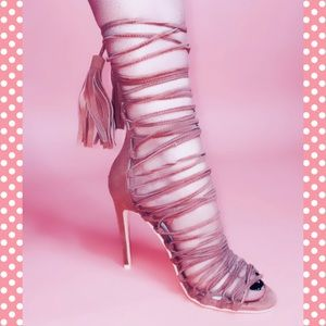COPY - Jeffery Campbell lace up heels 🌸